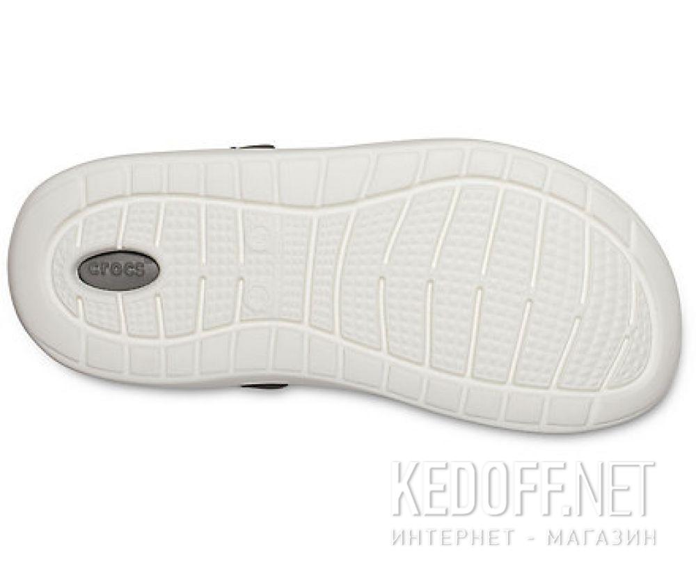 Оригинальные Мужские сандалии Crocs Literide Clog Black/Smoke 204592-05M