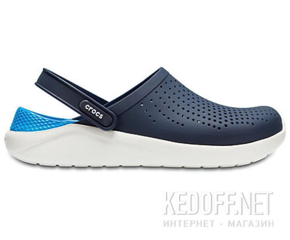 Мужские сандалии Crocs Literide Clog 204592- 462 Navy/White купить Киев