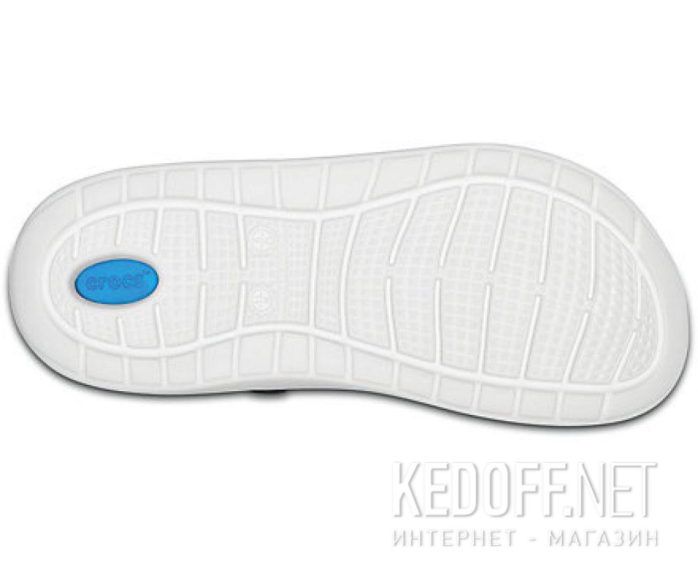 Мужские сандалии Crocs Literide Clog 204592- 462 Navy/White описание