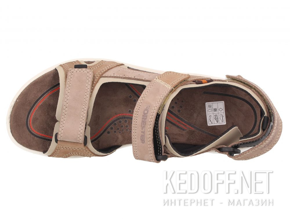 Оригинальные Мужские сандалии Forester Allroad 5201-13 Сьемная стелька