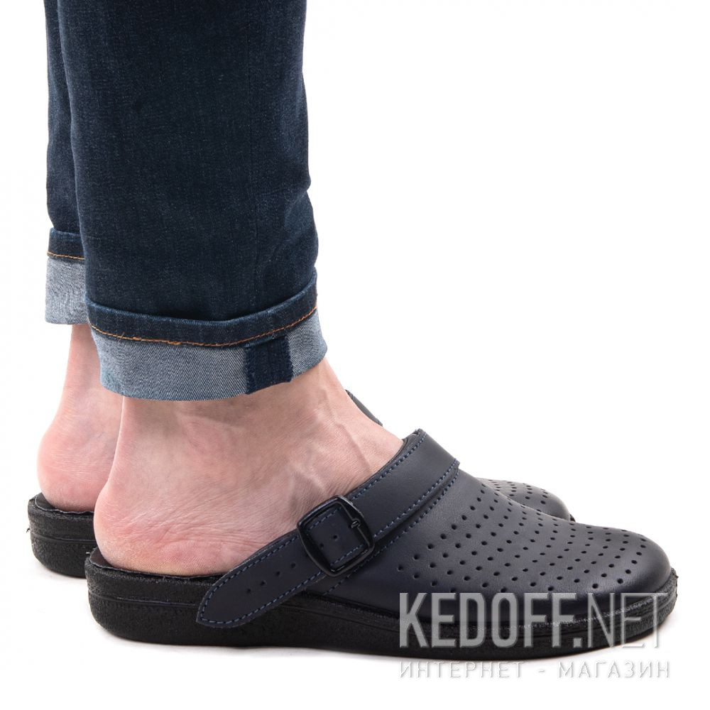 Чоловічі сандалі Forester Home 0404-27 Black