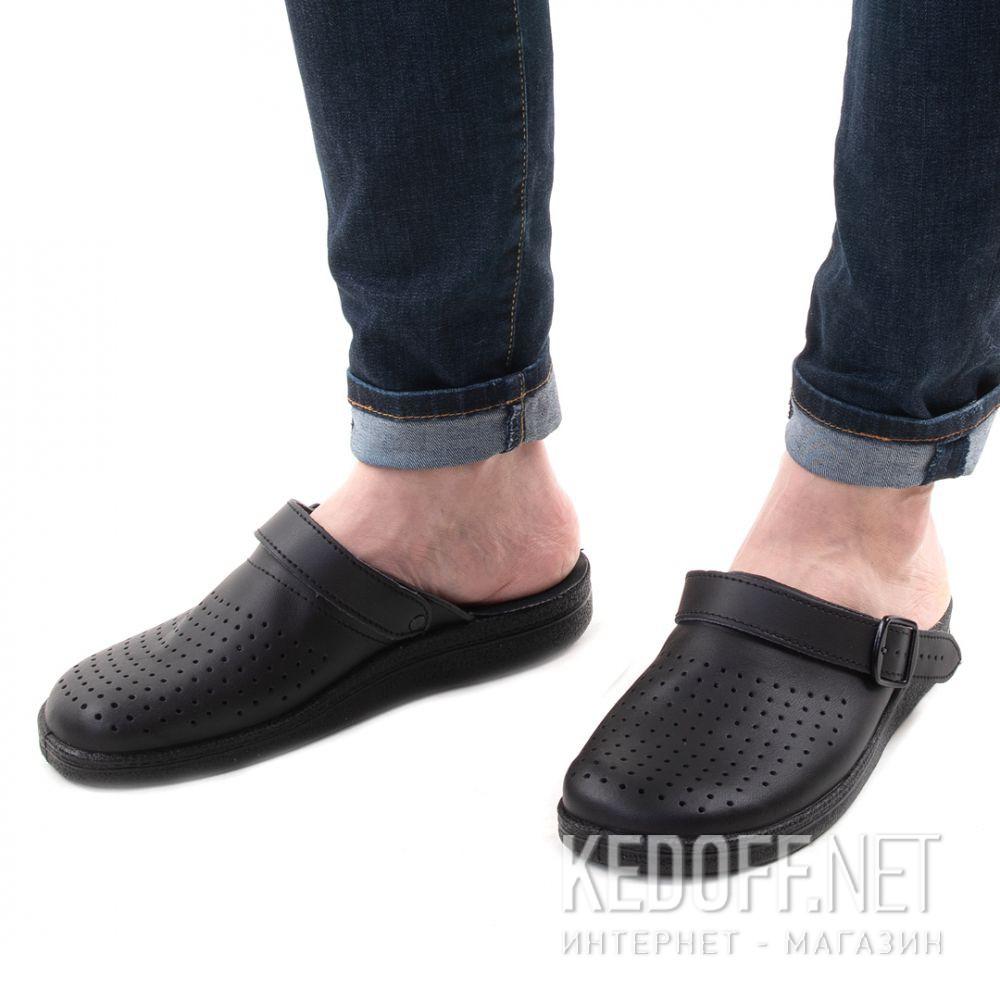 Чоловічі сандалі Forester Home 0404-27 Black доставка по Украине