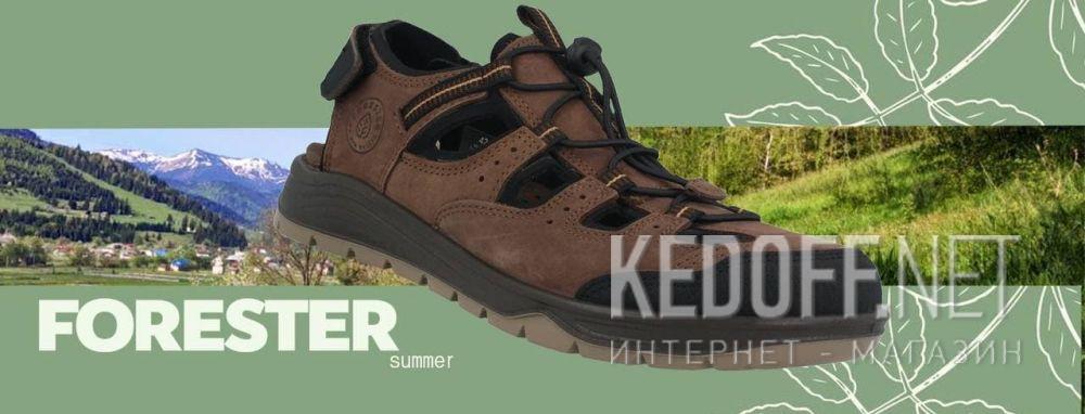 Доставка Мужские сандалии Forester Trail 5213-1FO Сьемная стелька