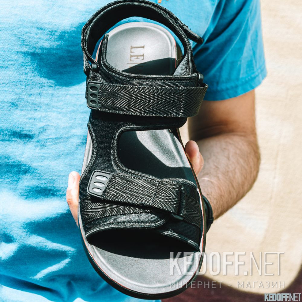 Мужские сандалии Las Espadrillas 90493-27 все размеры