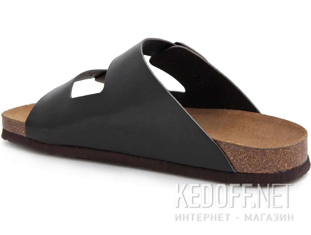 Мужская ортопедическая обувь Las Espadrillas 06-0189-001   (чёрный) купить Украина