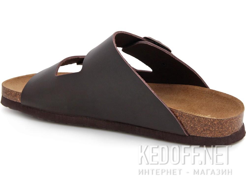 Мужская ортопедическая обувь Las Espadrillas 06-0189-002   (коричневый) купить Украина