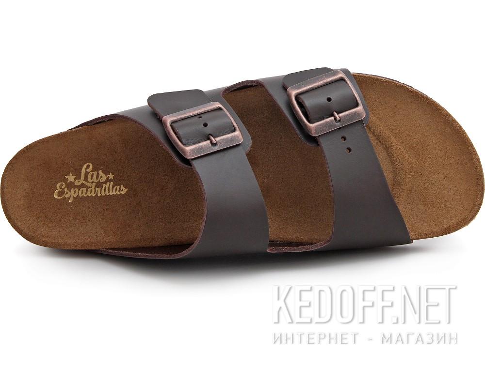 Мужская ортопедическая обувь Las Espadrillas 06-0189-002   (коричневый) купить Киев