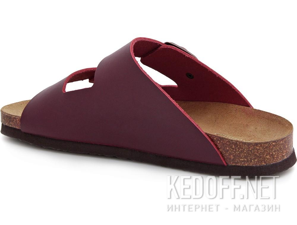 Мужская ортопедическая обувь Las Espadrillas 06-0189-003   (бордовый) купить Украина