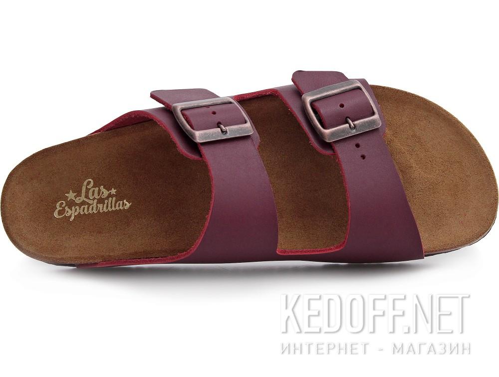 Оригинальные Мужская ортопедическая обувь Las Espadrillas 06-0189-003   (бордовый)