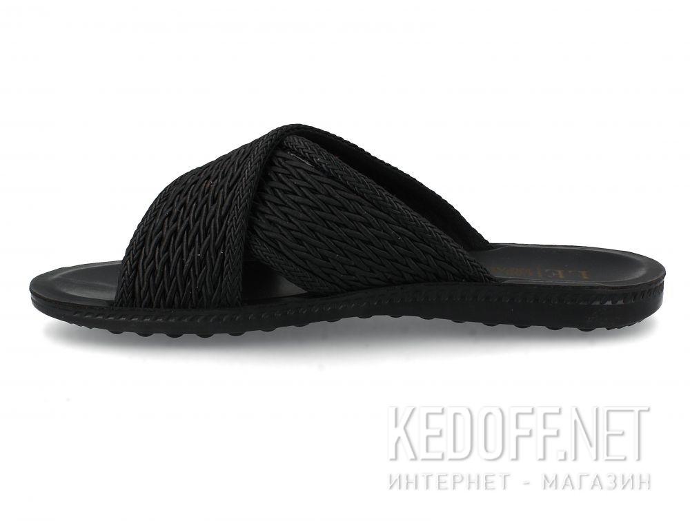 Мужские шлепанцы Las Espadrillas Black Knights T021-2727 купить Киев