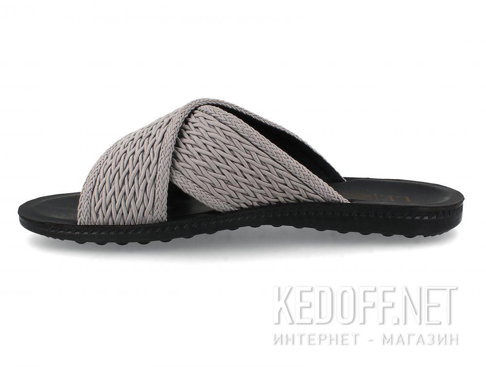 Мужские шлепанцы Las Espadrillas Grey Knights T021-3727 купить Киев