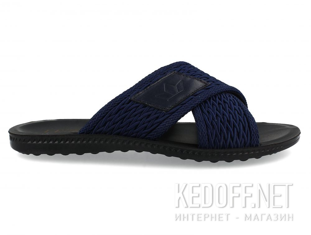 Мужские сланцы и шлепанцы Las Espadrillas Navy Knoghts T021-8927 купить Украина