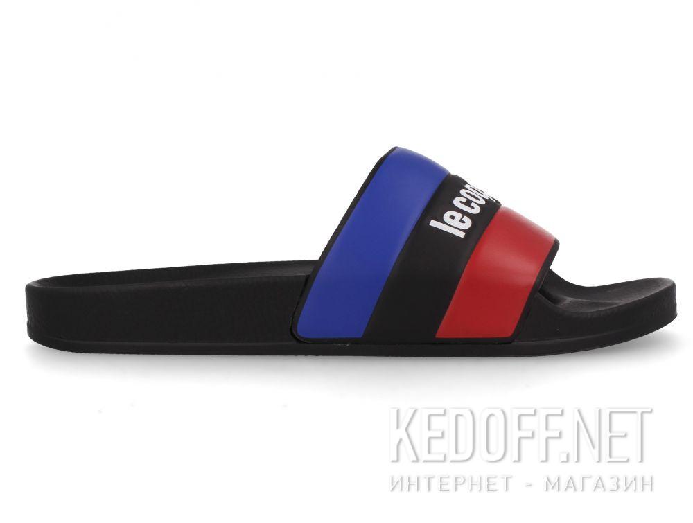 Мужские тапочки Le Coq Sportif 1911137-LCS Black купить Украина