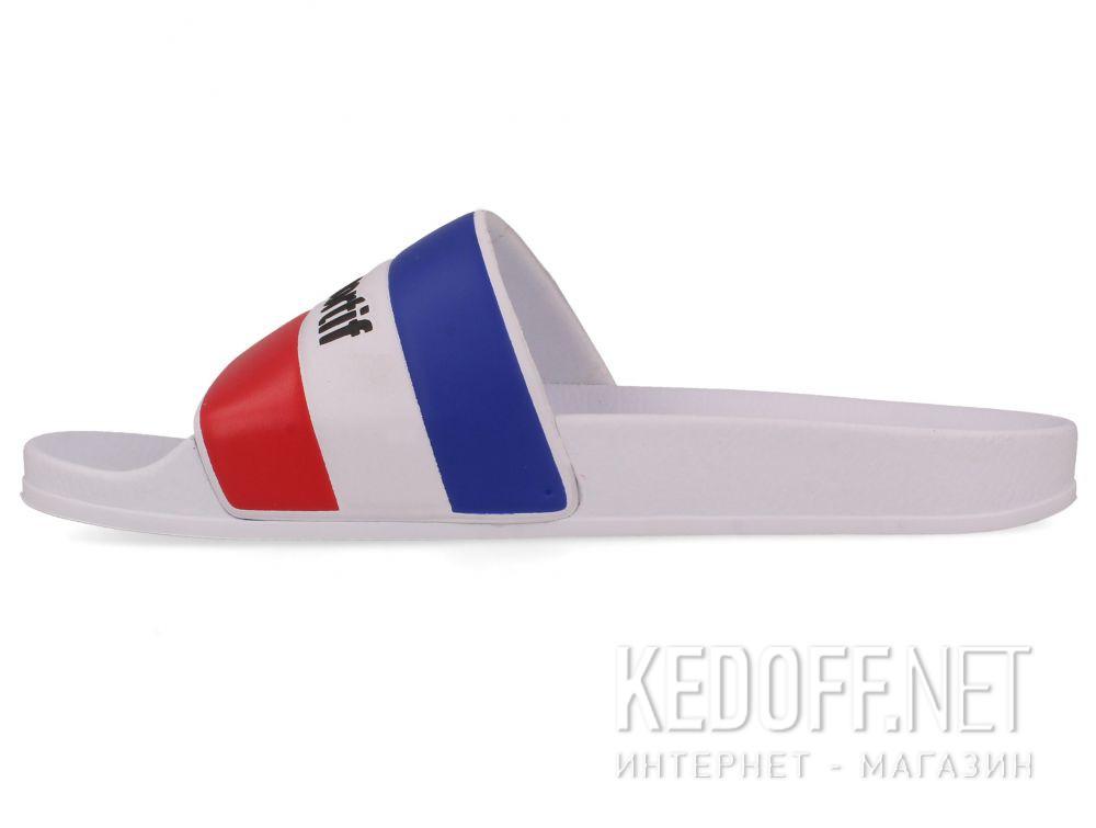 Мужские тапочки Le Coq Sportif TriColor 1911138-LCS White купить Украина