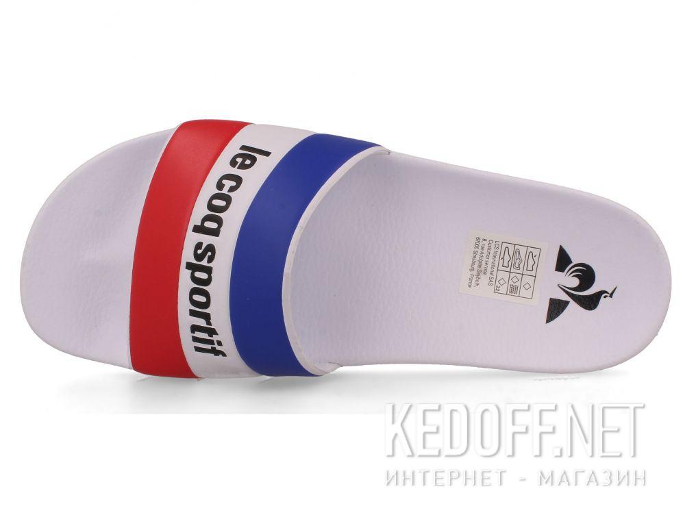 Оригинальные Мужские тапочки Le Coq Sportif TriColor 1911138-LCS White