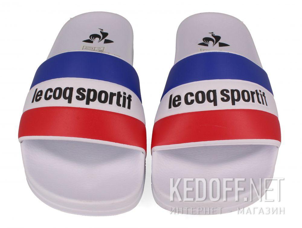 Мужские тапочки Le Coq Sportif TriColor 1911138-LCS White описание