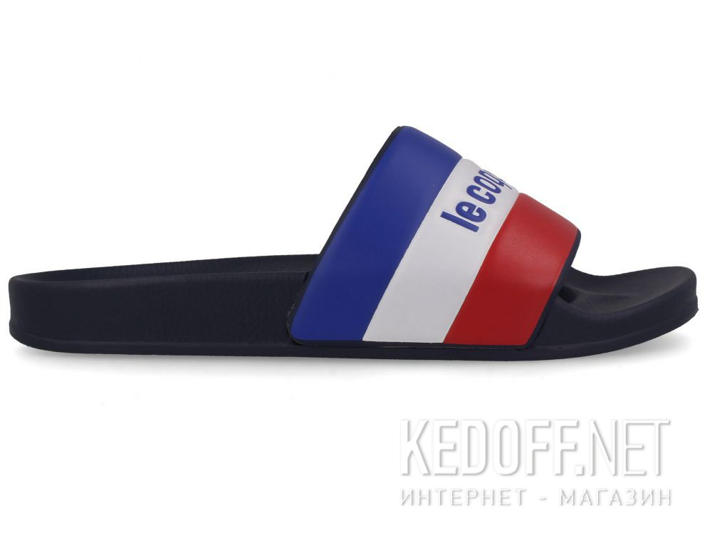Мужские тапочки Le Coq Sportif TriColor 1911140-LCS Navy купить Киев