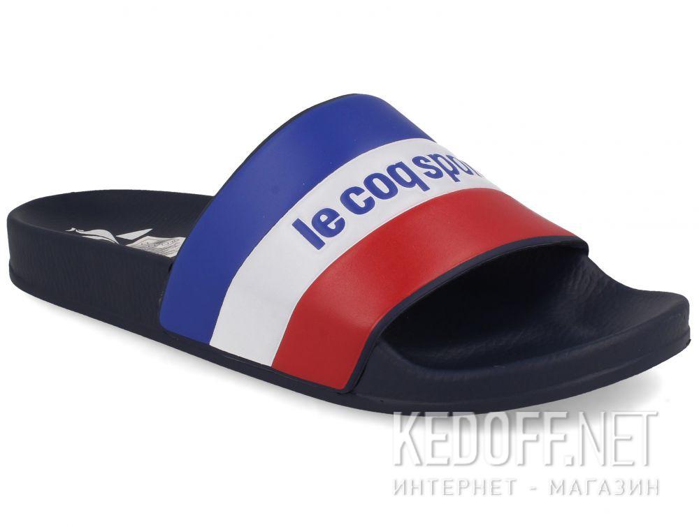 Оригинальные Мужские тапочки Le Coq Sportif TriColor 1911140-LCS Navy