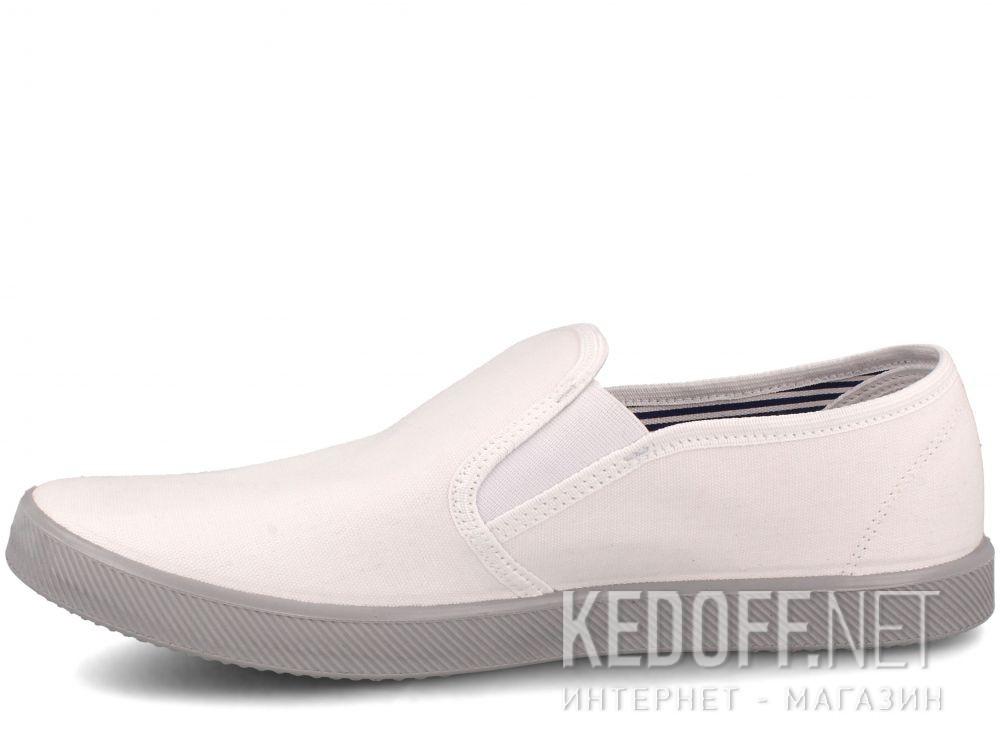 Оригинальные Мужские слипоны Las Espadrillas Eco Soft 6088-13 Lacoste White