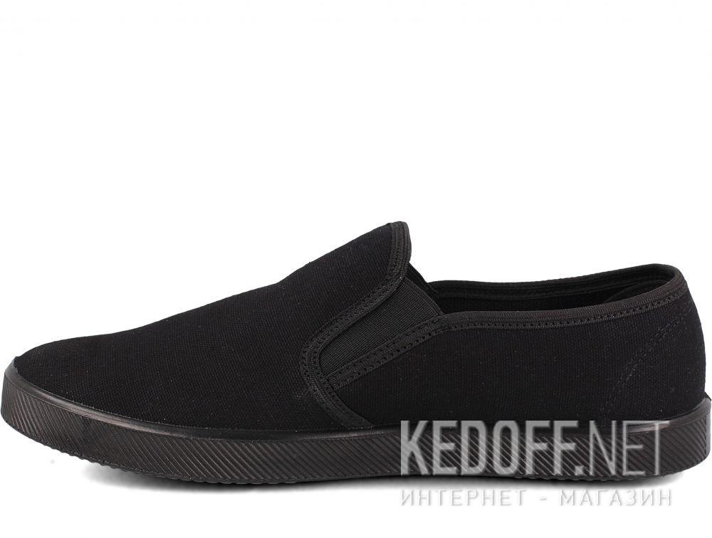 Оригинальные Мужские слипоны Las Espadrillas Eco Soft 6088-27 Lacoste Black