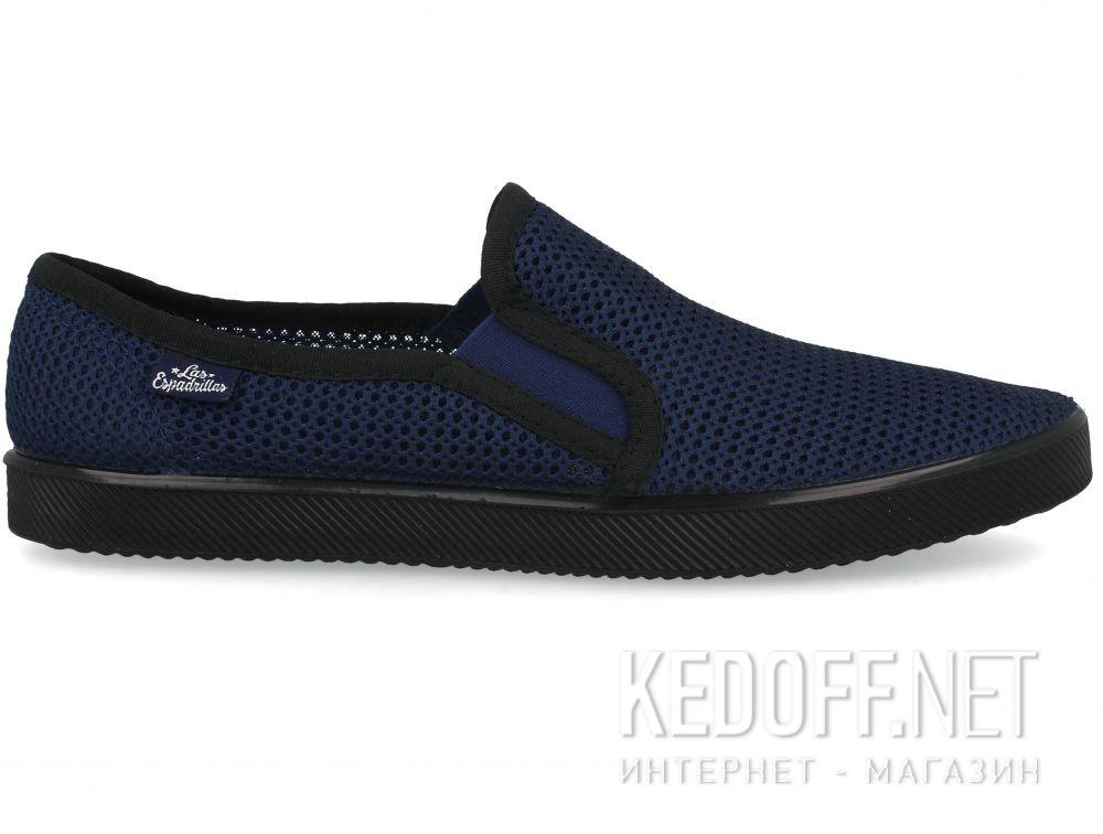 Мужские слипоны Las Espadrillas Mesh 6088-289 купить Украина