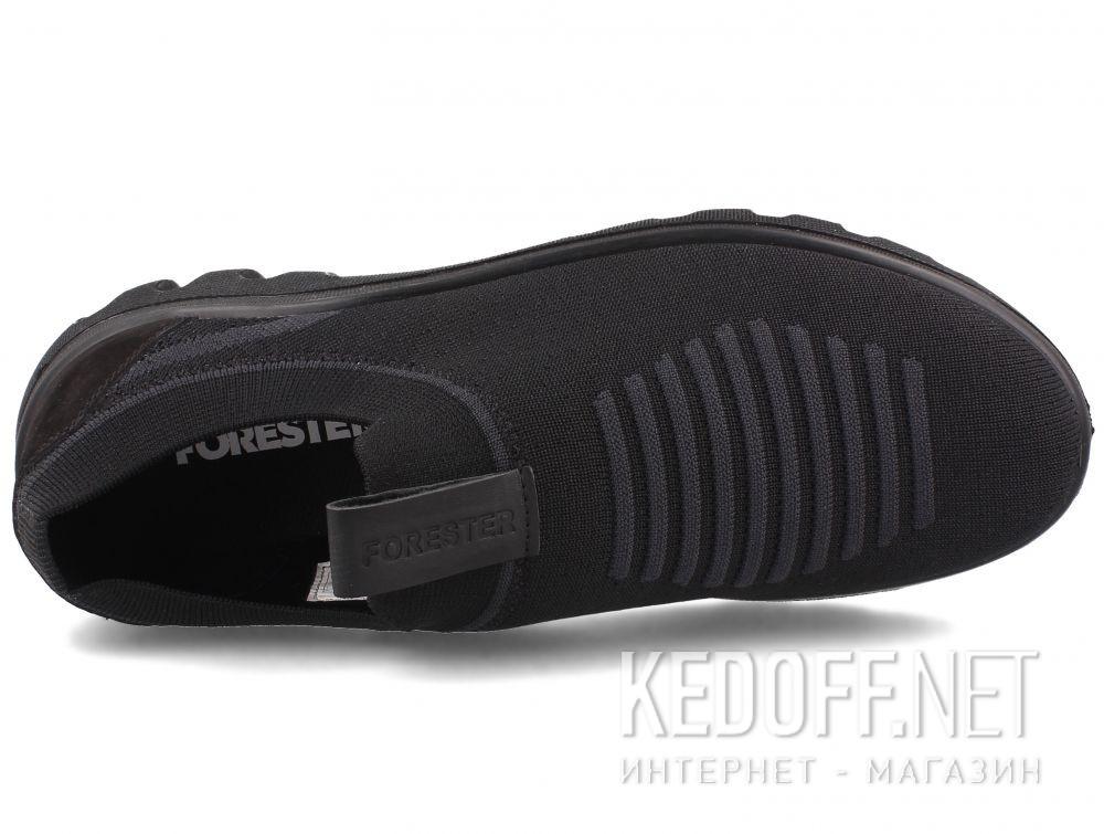 Мужские кроссовки Forester Knit 7282-27 Black все размеры