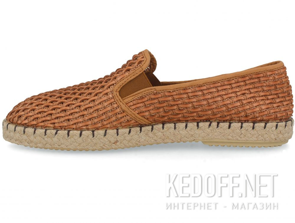 Мужские слипоны Las Espadrillas Cuero FV0102-04 Made in Spain купить Киев