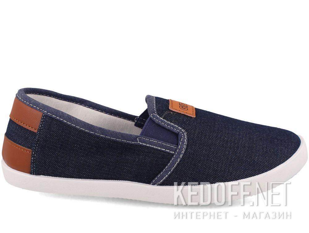 Мужские слипоны Las Espadrillas KM45-10-42 купить Киев