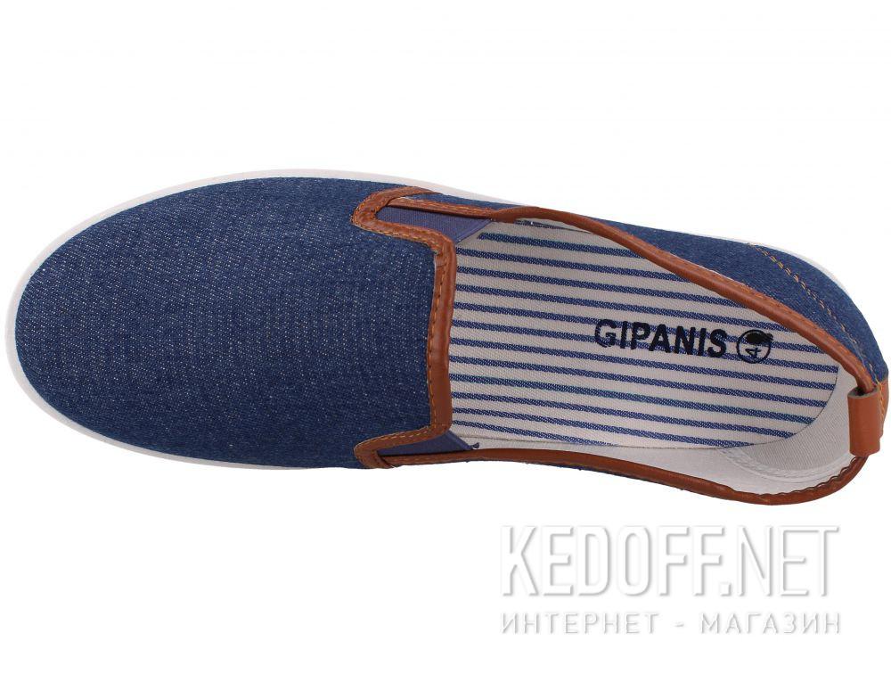 Мужские слипоны Las Espadrillas KM47-10-42 описание