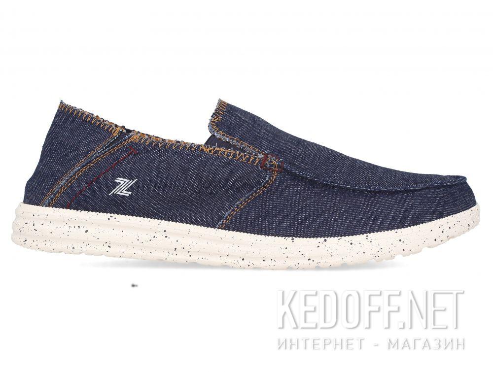 Мужские слипоны Las Espadrillas Navy 10128-89 купить Киев