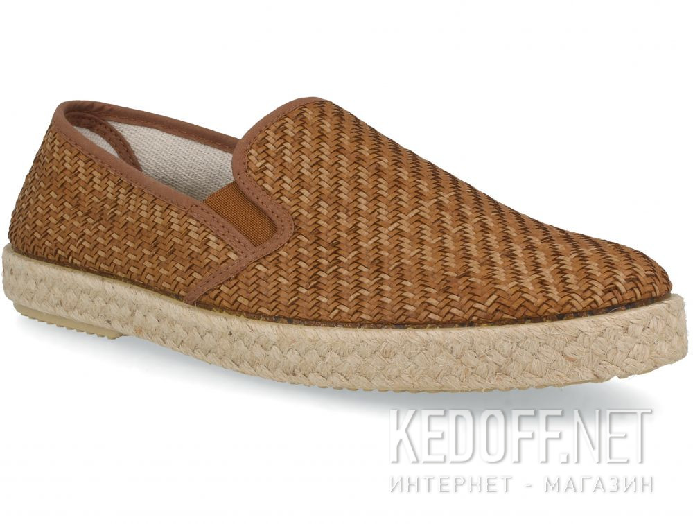 Мужские слипоны Las Espadrillas Taupe FV8120-45 Made in Spain