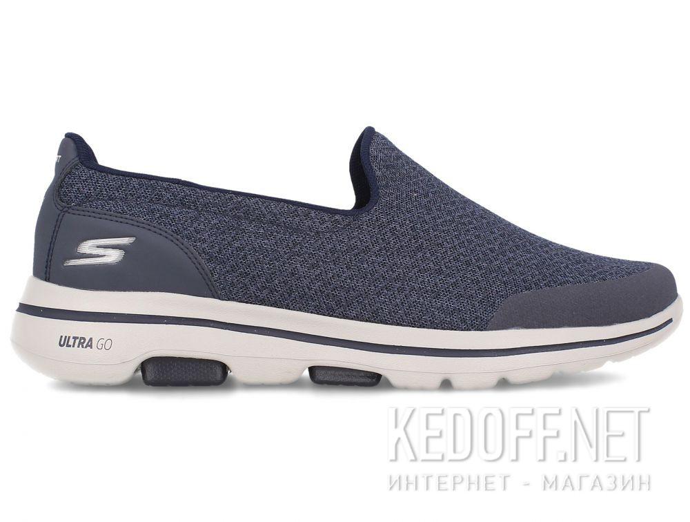 Męskie слипоны Skechers Go Walk 5 Sparrow Navy 55503NVY купить Киев