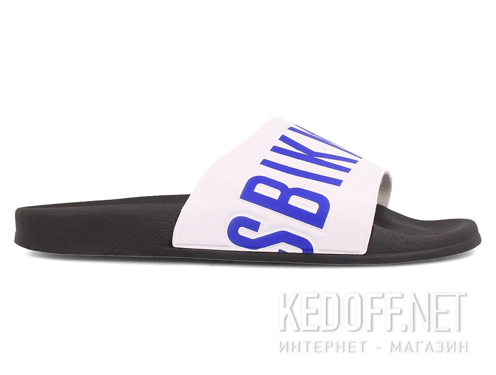 Mens Slippers Dirk Bikkembergs BKE Swimm 108367-1342 Made in Italy описание