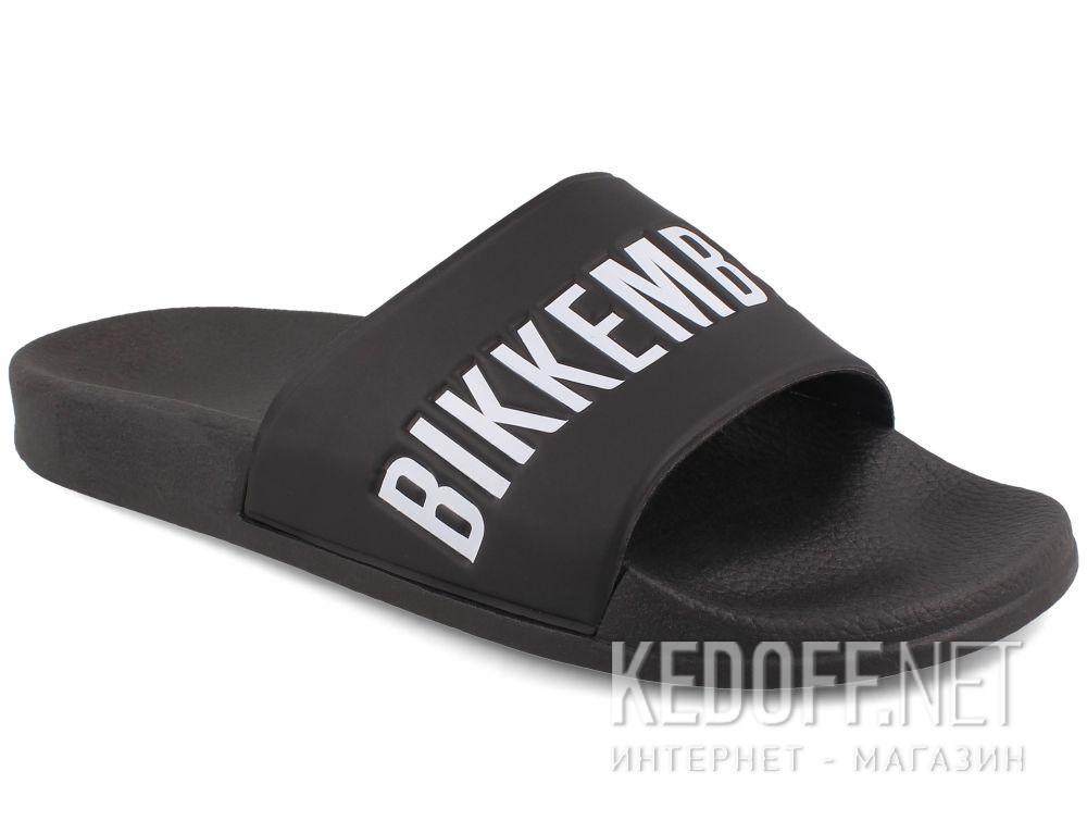 Мужские тапочки  Dirk Bikkembergs Swimm ER 652 108366-27 Black White купить Украина
