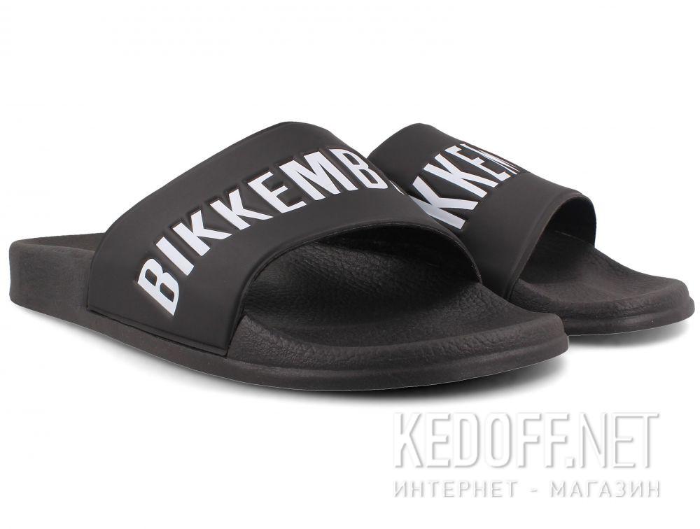 Мужские тапочки  Dirk Bikkembergs Swimm ER 652 108366-27 Black White купить Киев