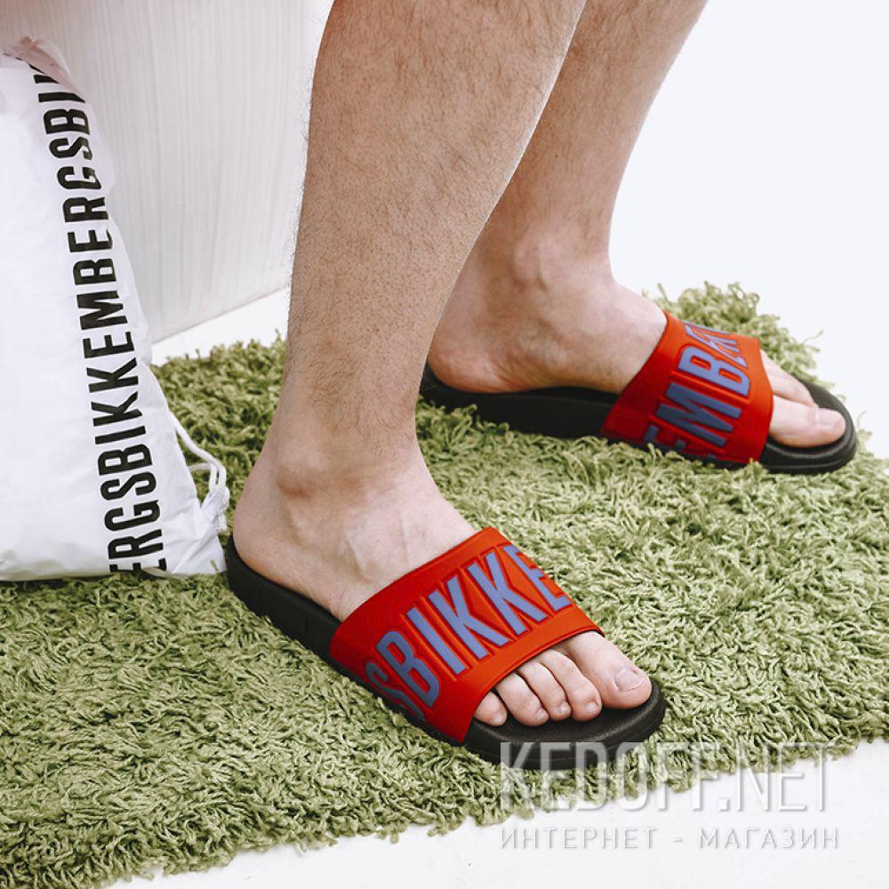 Мужские тапочки Dirk Bikkembergs Swimm 108367-4713 Made in Italy все размеры