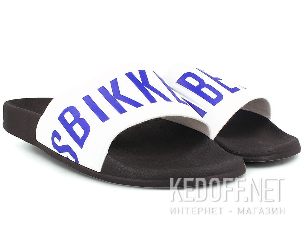 Мужские тапочки Dirk Bikkembergs Swimm BKE 108367-1342 Made in Italy купить Украина