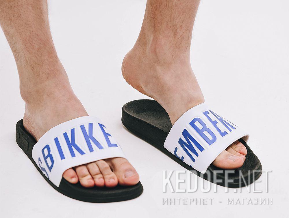 Доставка Мужские тапочки Dirk Bikkembergs Swimm BKE 108367-1342 Made in Italy