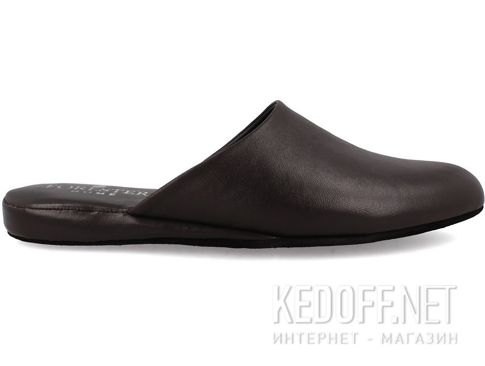 Męskie kapcie Forester Home 771-452 Dark Brown купить Украина