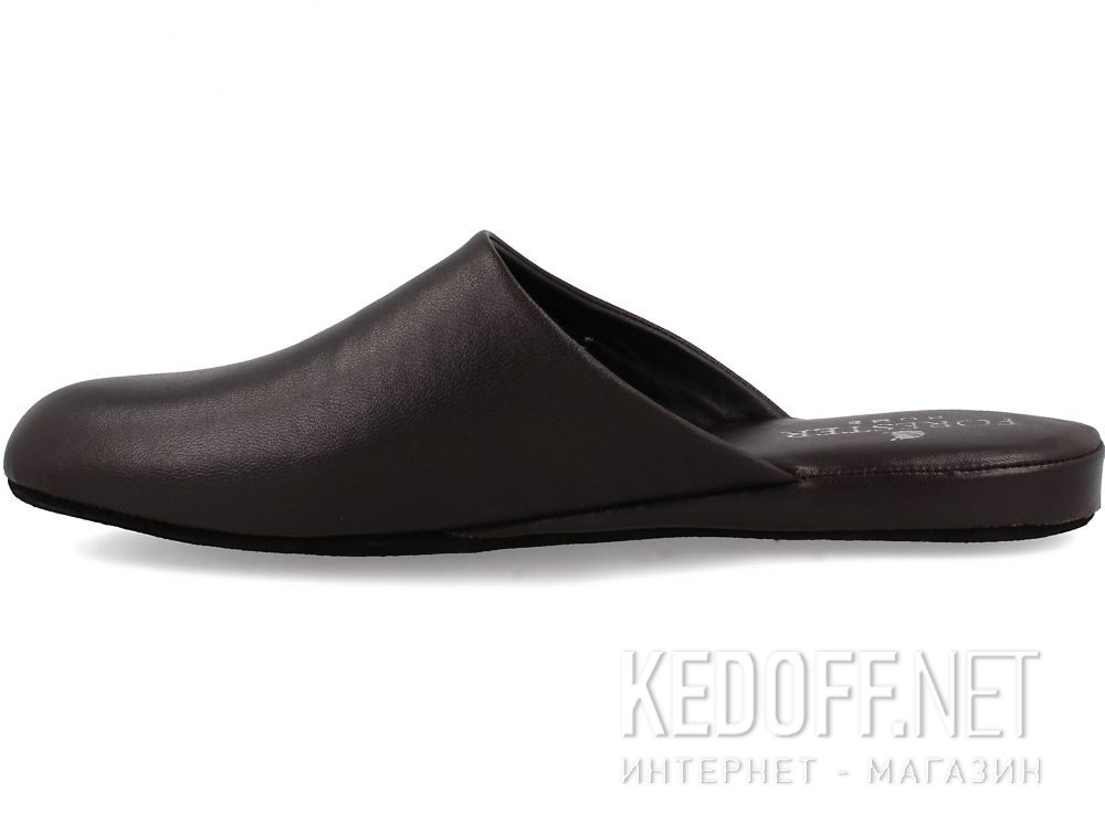 Męskie kapcie Forester Home 771-452 Dark Brown купить Киев