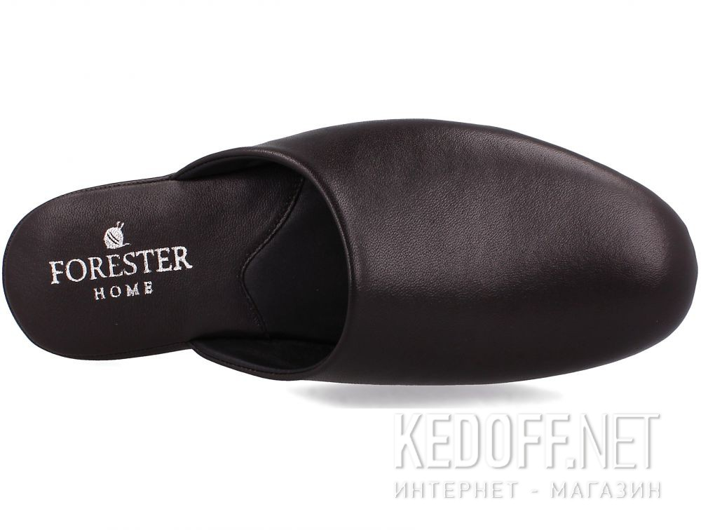 Оригинальные Męskie kapcie Forester Home 771-452 Dark Brown