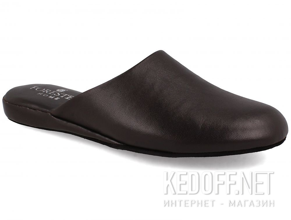 Męskie kapcie Forester Home 771-452 Dark Brown