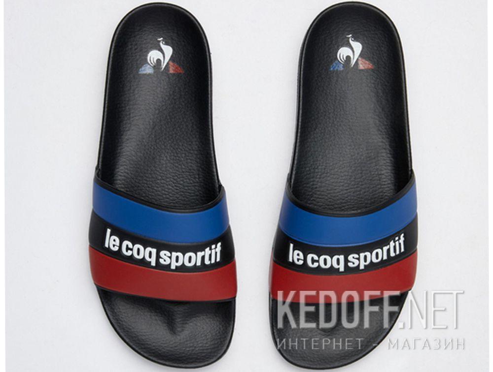 Доставка Мужские тапочки Le Coq Sportif 1911137-LCS Black