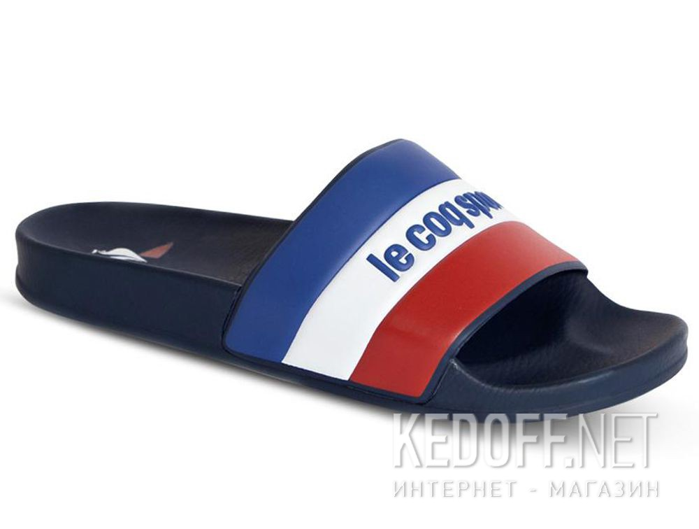 Купить Мужские тапочки Le Coq Sportif TriColor 1911140-LCS Navy
