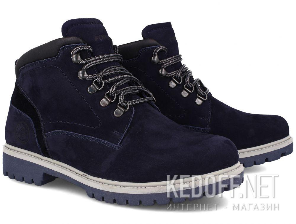 Мужские тимберленды Forester 5755-052   (тёмно-синий) купить Украина