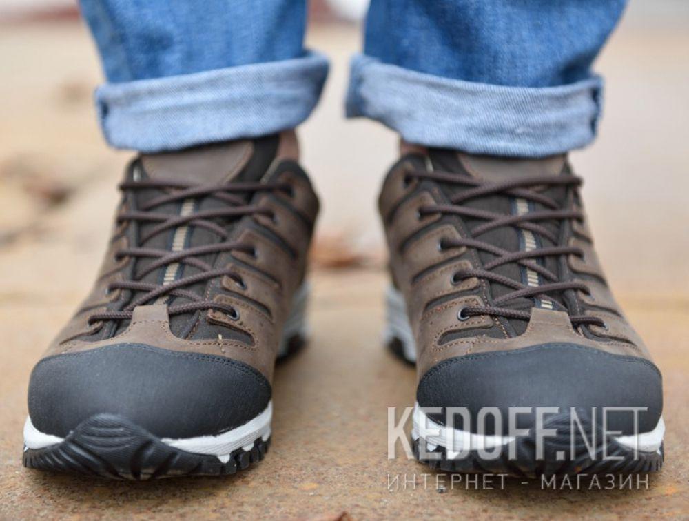 Доставка Мужские трекинговые кроссовки Lytos Nitron 9AB007-120 (тёмно-коричневый/western/коричневый/чёрный)