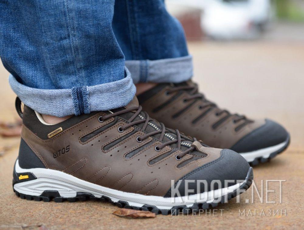 Мужские трекинговые кроссовки Lytos Nitron 9AB007-120 (тёмно-коричневый/western/коричневый/чёрный) доставка по Украине