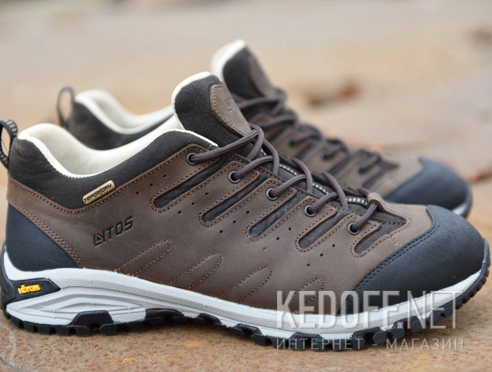 Мужские трекинговые кроссовки Lytos Nitron 9AB007-120 (тёмно-коричневый/western/коричневый/чёрный) все размеры