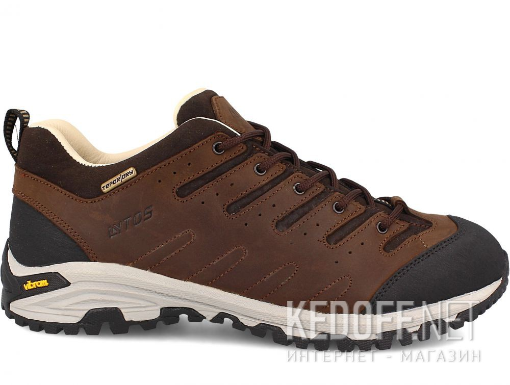 Мужские трекинговые кроссовки Lytos Nitron 9AB007-120 (тёмно-коричневый/western/коричневый/чёрный) купить Киев