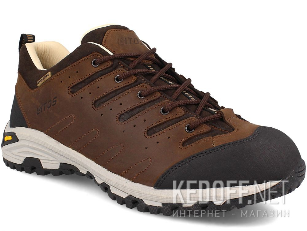 Купить Мужские трекинговые кроссовки Lytos Nitron 9AB007-120 (тёмно-коричневый/western/коричневый/чёрный)